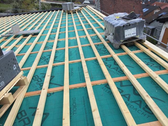 karpstein bedachungs gmbh braas 7grad dach als pultdach mit harzer pfanne f. Black Bedroom Furniture Sets. Home Design Ideas
